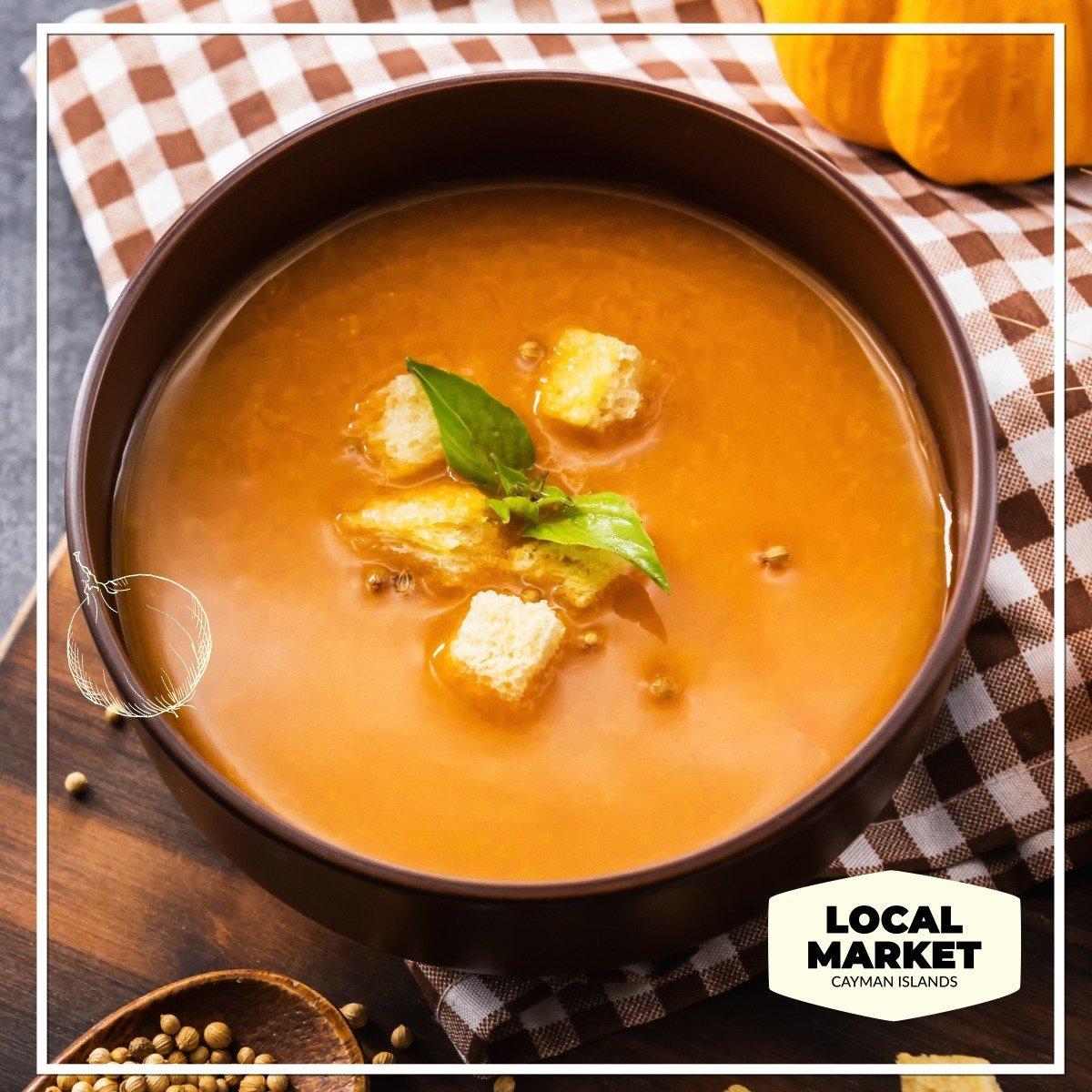 Cayman Pumpkin Soup