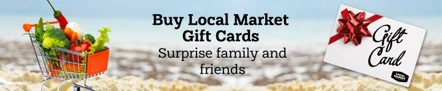 Local Market Gift Card